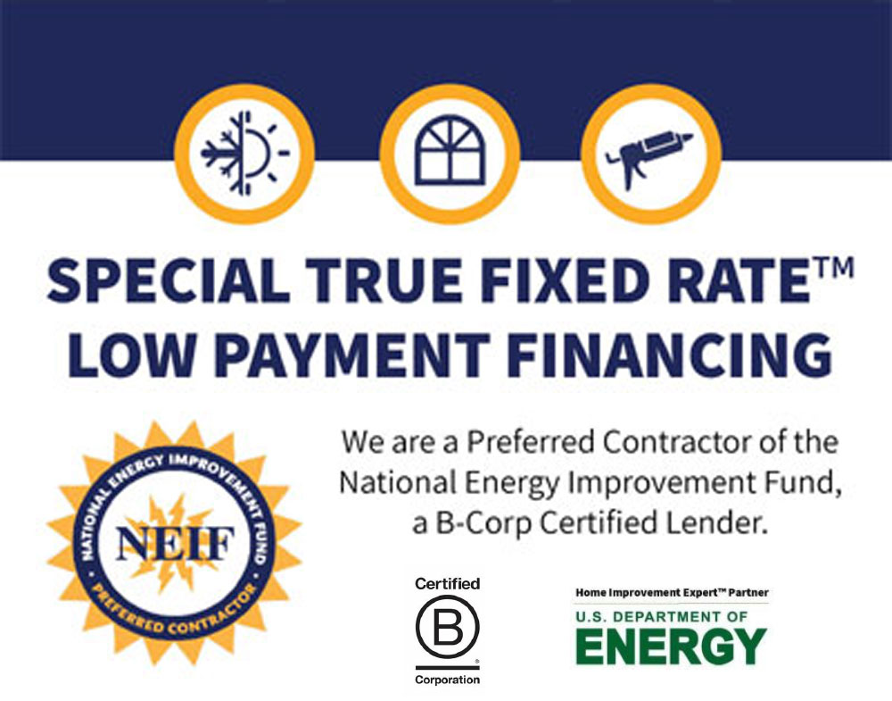 Get a Fixed Rate Low Payment Energy Plus Loan Today!